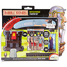 Buy Horrible Histories Rotten Roman Starter Set Online at johnlewis.com