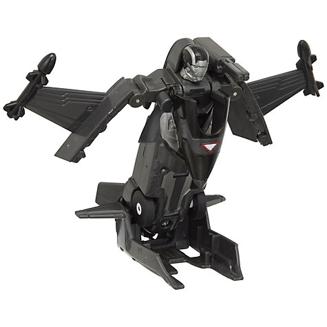 Buy Marvel Iron Man 3 War Machine Motorised Battle Charger Vehicle, Assorted Online at johnlewis.com