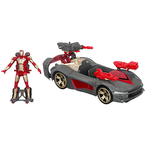 Buy Marvel Iron Man 3 Avengers Initiative Battle Vehicle Online at johnlewis.com