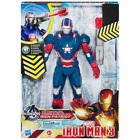 Buy Marvel Iron Man 3 Avengers Initiative Action Figure, Assorted Online at johnlewis.com