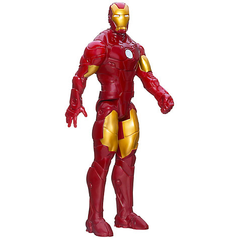 Buy Marvel Iron Man 3 Avengers Initiative Titan Hero Figure Online at johnlewis.com