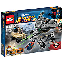 Buy Lego Super Heroes Battle Of Smallville Set Online at johnlewis.com