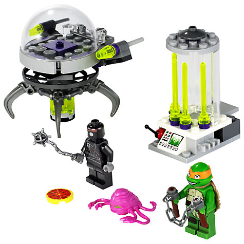 Buy LEGO Teenage Mutant Ninja Turtles: Kraang Lab Escape Online at johnlewis.com