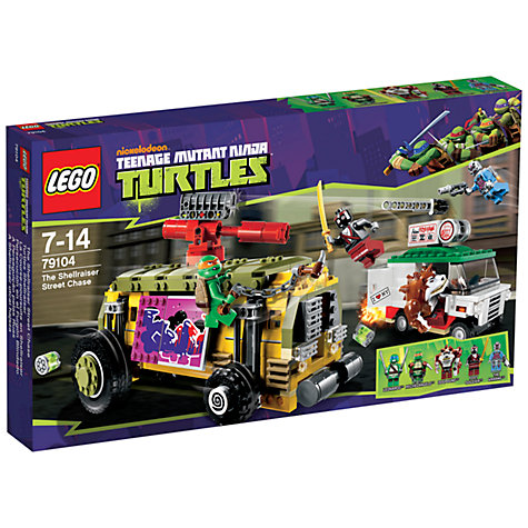 Buy LEGO Teenage Mutant Ninja Turtles: The Shellraiser Street Chase Online at johnlewis.com