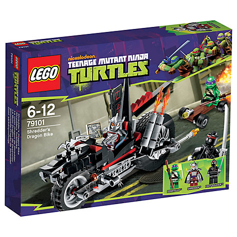 Buy LEGO Teenage Mutant Ninja Turtles: Shredder's Dragon Bike Online at johnlewis.com