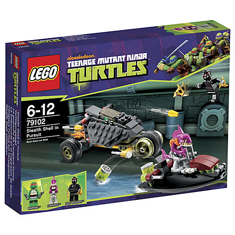 Buy LEGO Teenage Mutant Ninja Turtles: Stealth Shell in Pursuit Online at johnlewis.com
