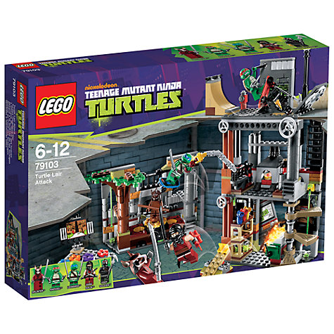 Buy LEGO Teenage Mutant Ninja Turtles: Turtle Attack Online at johnlewis.com