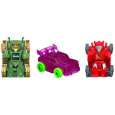 Transformers Bot Shots Battle Game, Pack of 3, Assorted