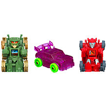 Buy Transformers Bot Shots Battle Game, Pack of 3, Assorted Online at johnlewis.com