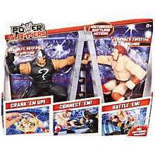 Buy WWE Power Slammer Figures Starter Kit, Assorted Online at johnlewis.com