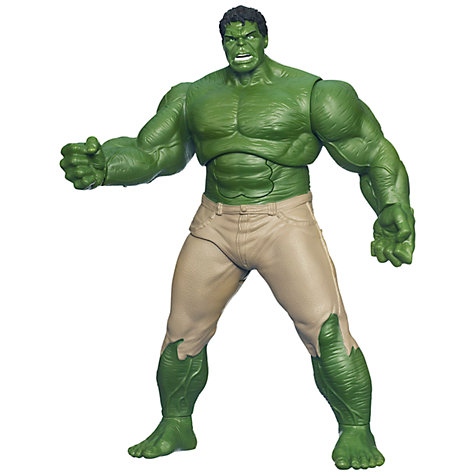 "Buy Marvel The Avengers 10"" Figure, Gamma Strike Hulk Online at johnlewis.com"
