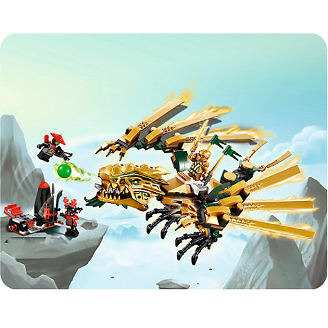 Buy LEGO Ninjago The Golden Dragon Online at johnlewis.com