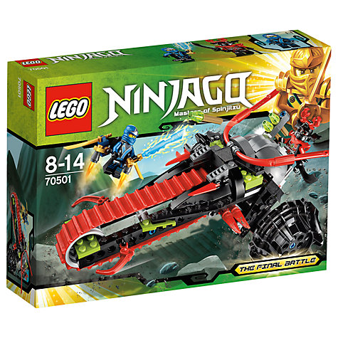 Buy LEGO Ninjago Warrior Bike Online at johnlewis.com