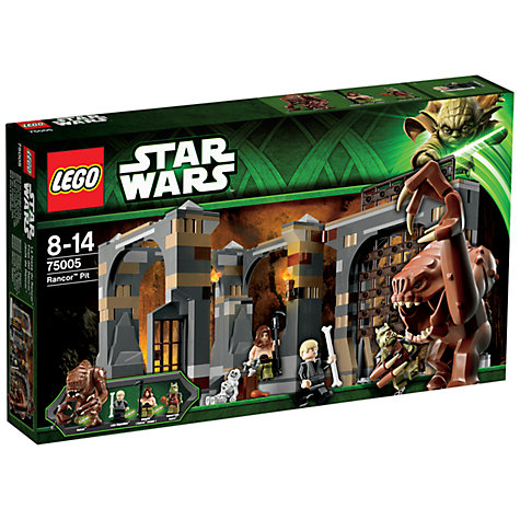 Buy LEGO Star Wars: Rancor Pit Online at johnlewis.com