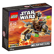 Buy LEGO Star Wars 75129 Wookiee Gunship Microfighter Online at johnlewis.com