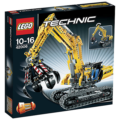 Buy LEGO Technic 2-in-1 Excavator Online at johnlewis.com