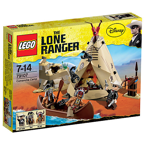 Buy LEGO Lone Ranger Comanche Camp Online at johnlewis.com