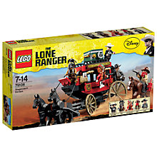 Buy LEGO The Lone Ranger Stagecoach Escape Online at johnlewis.com