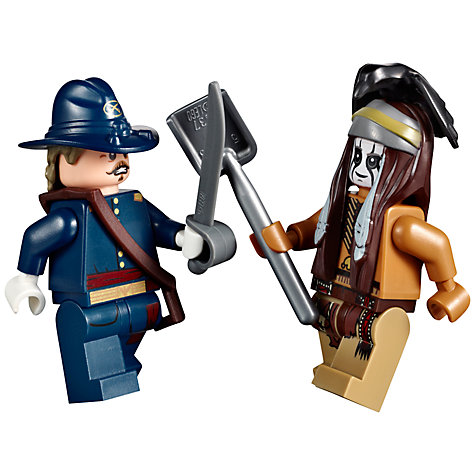 Buy LEGO The Lone Ranger Constitution Train Chase Online at johnlewis.com