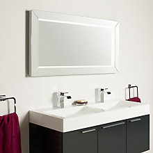 Buy John Lewis Affinity Illuminated Bathroom Mirror Online at johnlewis.com