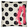 Buy La Cerise Sur Le Gateau Boots, Dots and Caviar Cushion, Multi Online at johnlewis.com