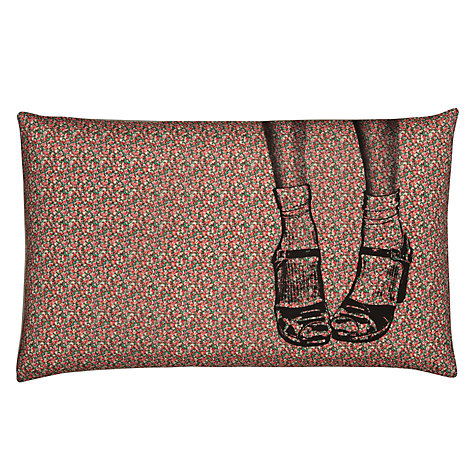 Buy La Cerise Sur Le Gateau Clogs Liberty Print Cushion, Pink Online at johnlewis.com
