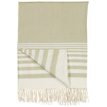 Buy John Lewis New England Stripe Throw Online at johnlewis.com