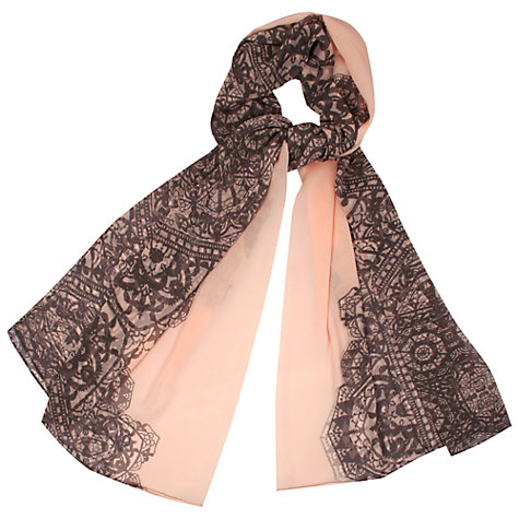 Buy Kaliko Lace Print Scarf, Multi Online at johnlewis.com