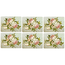 Buy Pimpernel Antique Roses Placemats, Set of 6 Online at johnlewis.com