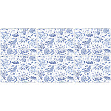 Buy Pimpernel Botanic Blue Placemats, Set of 6 Online at johnlewis.com