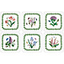 Pimpernel Botanic Garden Coasters, Set of 6