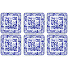 Buy Pimpernel Blue Italian Coasters, Set of 6 Online at johnlewis.com