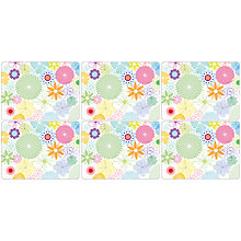 Buy Pimpernel Crazy Daisy Placemats, Set of 6 Online at johnlewis.com