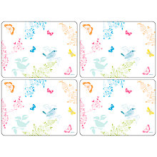 Buy Pimpernel Dawn Chorus Placemats, Set of 6 Online at johnlewis.com
