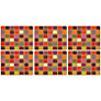 Pimpernel Harlequin Placemats, Set of 6