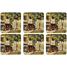 Buy Pimpernel Parisian Scenes Coasters, Set of 6 Online at johnlewis.com
