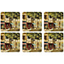Pimpernel Parisian Scenes Coasters, Set of 6