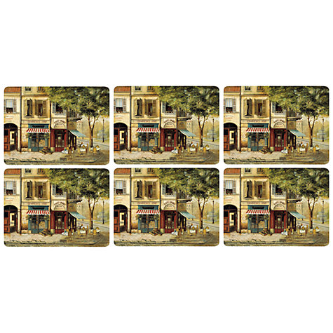 Buy Pimpernel Parisian Scenes Placemats, Set of 6 Online at johnlewis.com