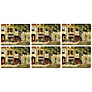Pimpernel Parisian Scenes Placemats, Set of 6