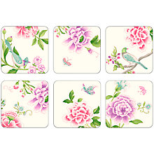 Buy Pimpernel Porcelain Garden Coasters, Set of 6 Online at johnlewis.com