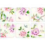 Pimpernel Porcelain Garden Coasters, Set of 6