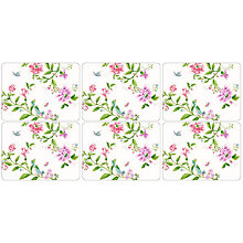 Buy Pimpernel Porcelain Garden Placemats, Set of 6 Online at johnlewis.com