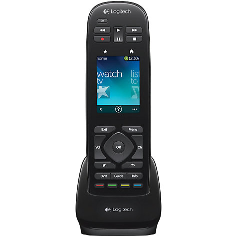 Buy Logitech Harmony Touch Remote Control Online at johnlewis.com