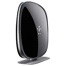 Buy Belkin AC 1200 DB Wi-Fi Dual Band Gigabit Router for Cable and Fibre Optic Connections Online at johnlewis.com