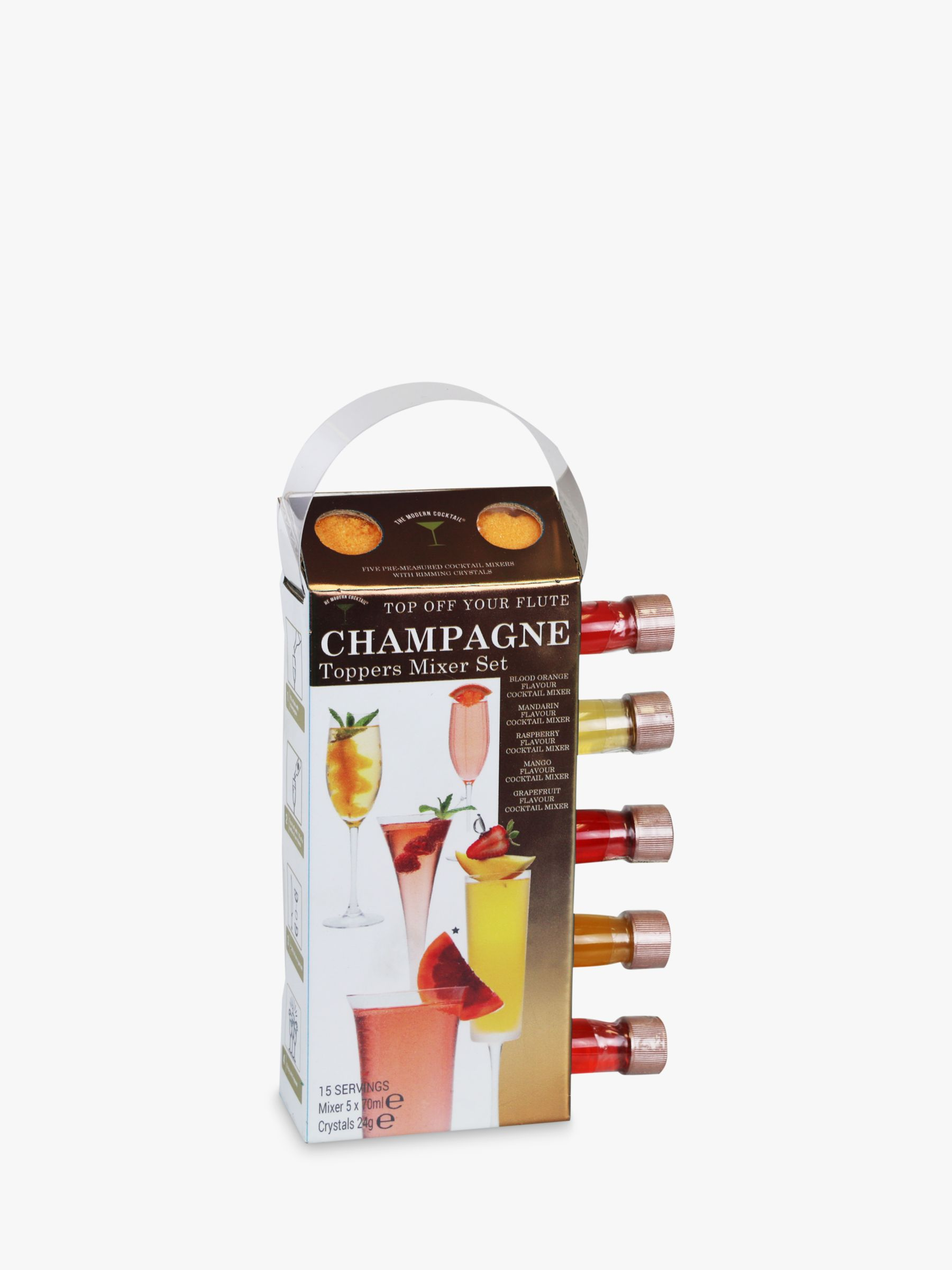 The Modern Cocktail The Modern Cocktail Champagne Mixers, Pack of 5