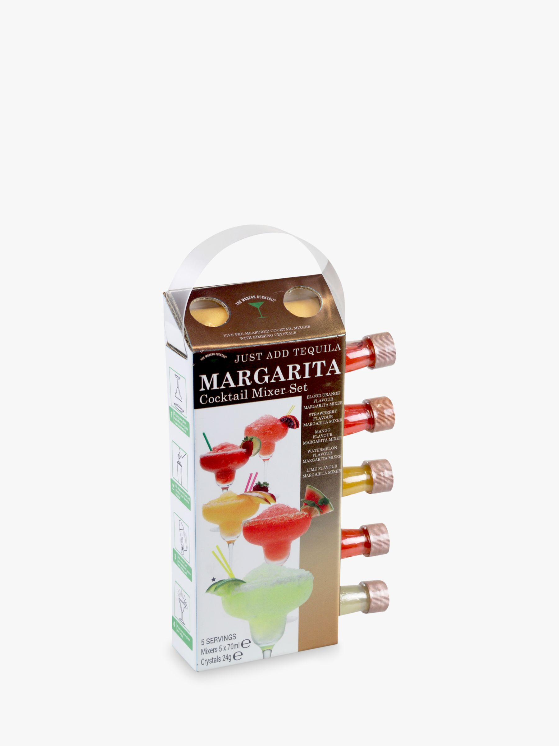 The Modern Cocktail The Modern Cocktail Margaritas Mixers, Pack of 5