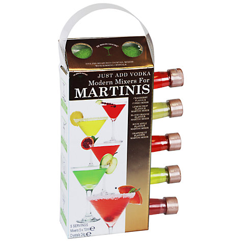 Buy The Modern Cocktail Martinis Mixers, Pack of 5 Online at johnlewis.com