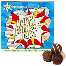 Buy Montezuma Father's Day Chocolate Truffle Box, 220g Online at johnlewis.com