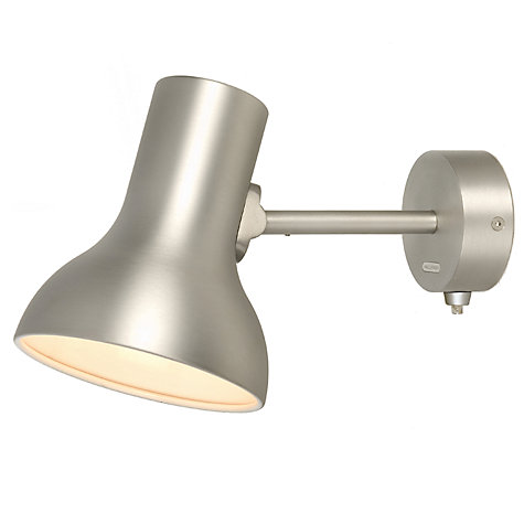 Buy Anglepoise Type75 Mini Wall Light, Brushed Aluminium Online at johnlewis.com