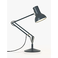 Buy Anglepoise Type75 Mini Task Lamp, Grey Online at johnlewis.com